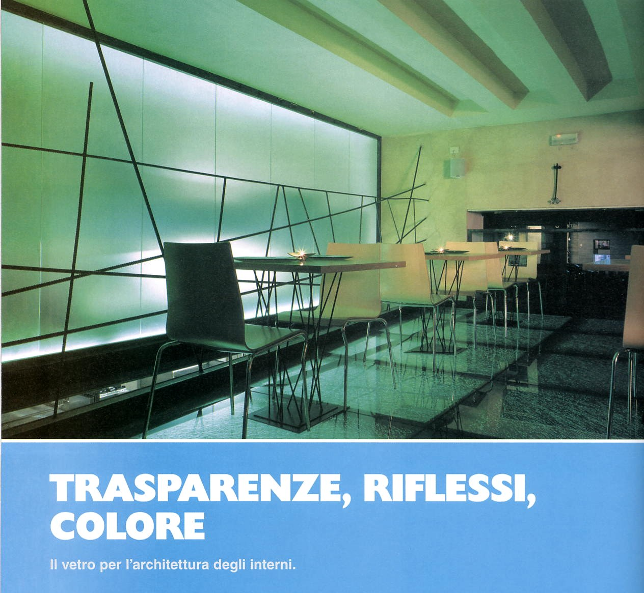 Transparency, effects, colors - Alessandro Villa architect