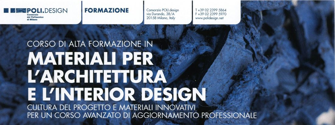 Director from June 2015 - Politecnico di Milano and Material Connexion