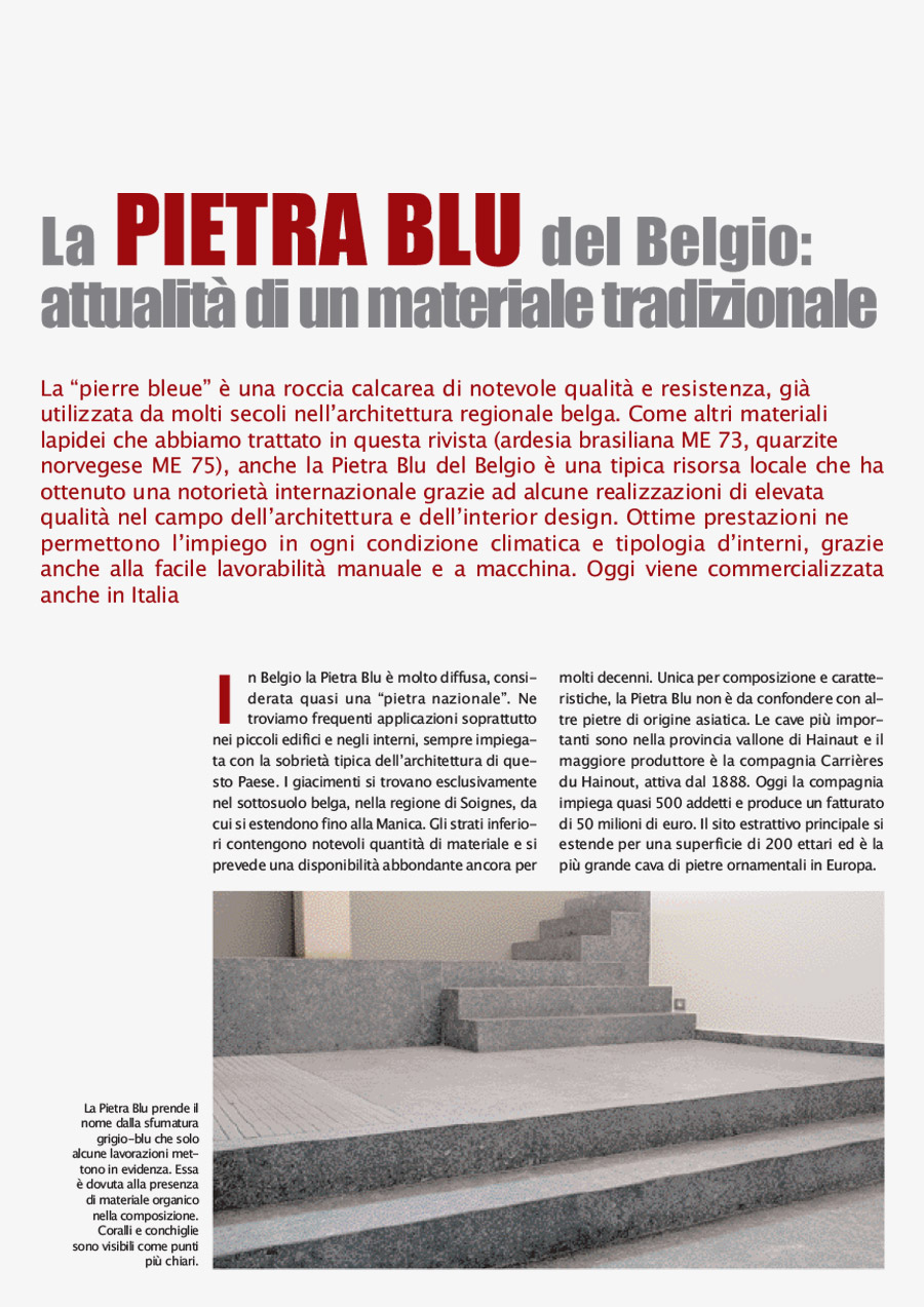 Belgian Blu Stone