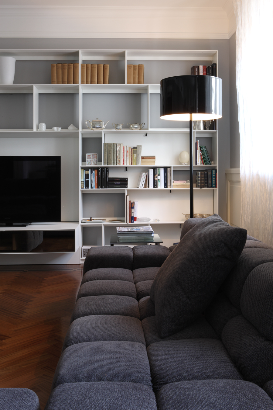 B&B Italia, Flos - living room - Alessandro Villa architect
