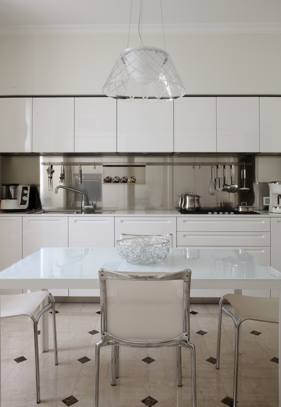 Boffi, Alias, Flos - kitchen - Alessandro Villa architect