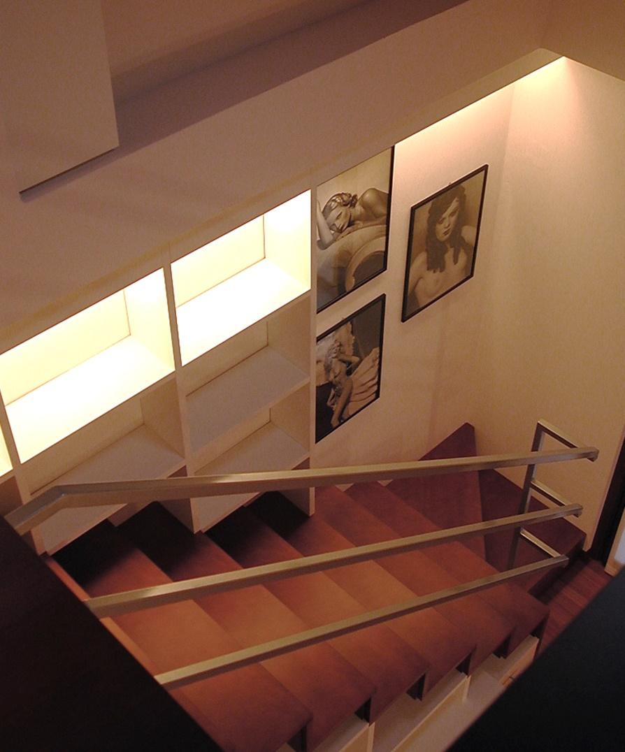 Built-in architectural furniture - Alessandro Villa architect